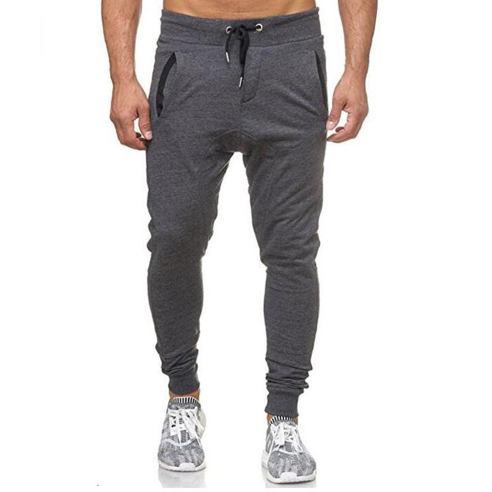 Оптом мужские брюки весенние осень хлопчатобумажные длинные брюки сплошные черные серые моды повседневный мальчик высокое качество новых 3-цветов м -3xl