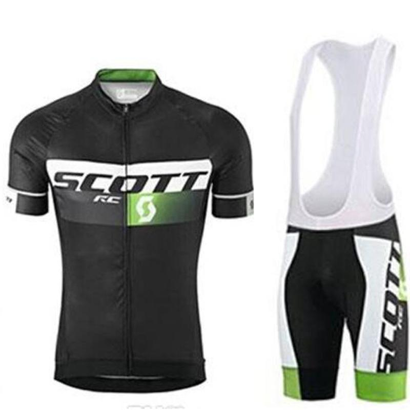 2020 Scott Rc manga curta Ciclismo Jersey 9d Gel Pad Bib Define Wear Bicicleta Vestuário Corridas Desportos Roupa bicicleta Mtb Ciclo Maillot Ropa Ci