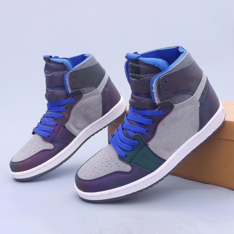 Jumpman 1 LPL X 1S عالية التكبير لعبة جيدة 3M أحذية كرة السلة الرجال النساء الراحة DD1453-001 أحذية رياضية في الهواء الطلق مع صندوق