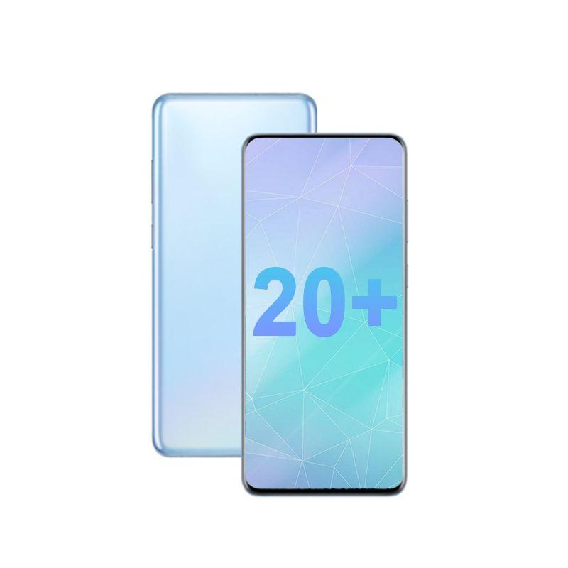 عرض 5G Goophone 6.7 بوصة 20Plus 20U الهاتف المحمول MTK6580P 1GB RAM 4GB / 8GB ROM WIFI الهاتف المحمول بلوتوث