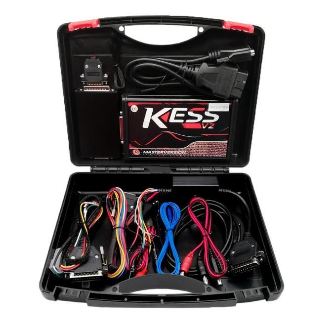 Ksuite Kırmızı PCB AB Çevrimiçi Usta Versiyon ECU Programcı Kess V2 V5.017 SW V2.53 / V2.47 OBD2 Chip Tuning Aracı