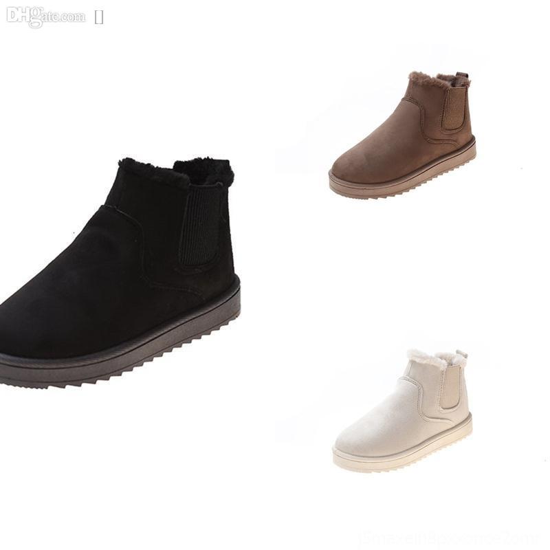 7iwfz kids designer botas despeje garotas criança quente outono e inverno inverno sapatos com sanso soft inner algodão sapatos moda