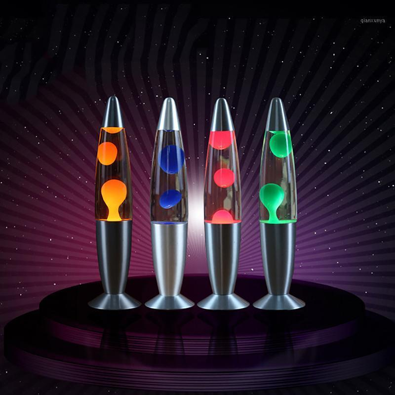 Araba Sıvı LAVA Lamba Ses LED Plazma Topu Elektrostatik Gece Işık Alüminyum Alaşım Lamba Dekorasyon Denizanası Atmosfer Işıkları1