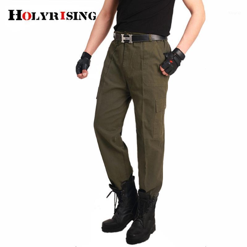 Pantalones para hombres para hombre Ejército Táctico Tactical Desgaste Estilo de combate Pantalones rectos Camuflaje Pantalones de carga para hombres1