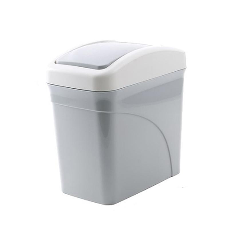 Garbage Desktop Spazzatura creativo ufficio può Organizer Wastebasket Mini coperto per Storage Box Trash 2pcs yxlLbf CE2007