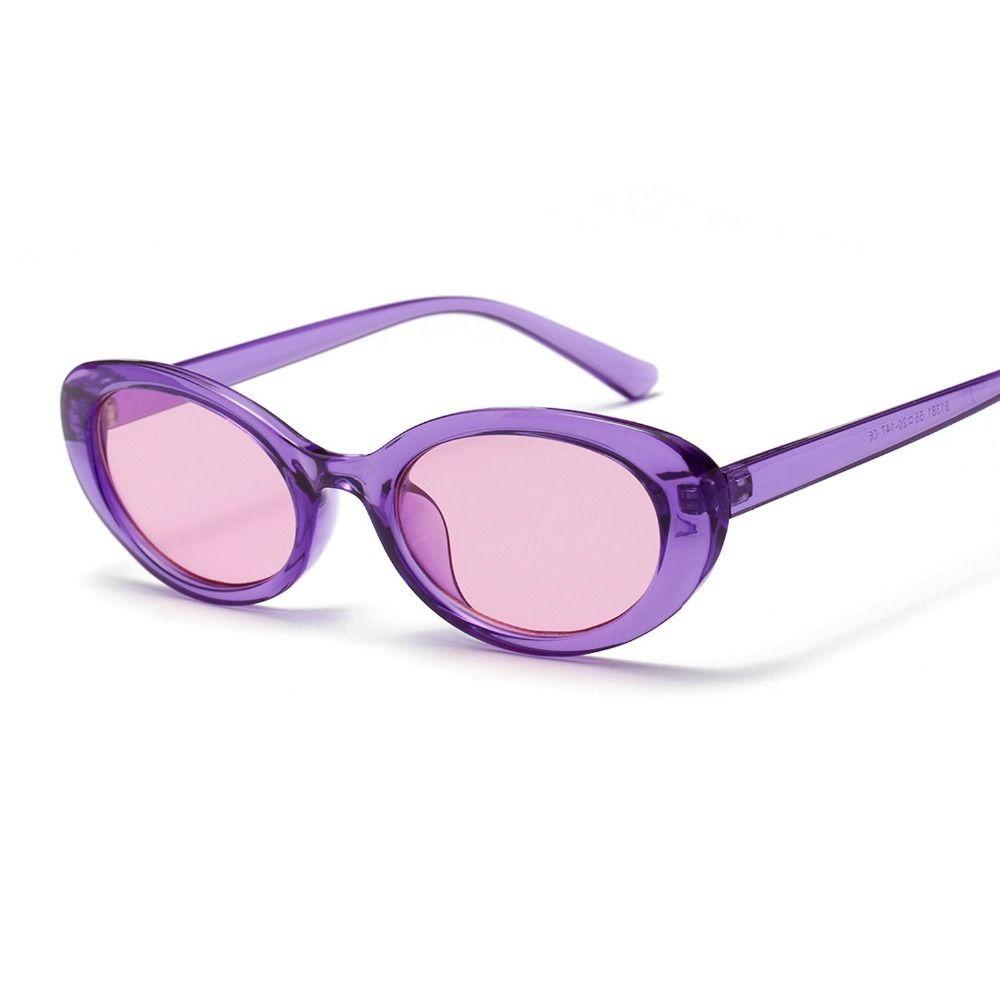 Marke Runde Weibliche Nette Augen Vintage Sonnenbrille Frauen Gläser Kleine Gläser Sun Cat Oval Damen Eyewear Bunte UV400 für Rwwtt