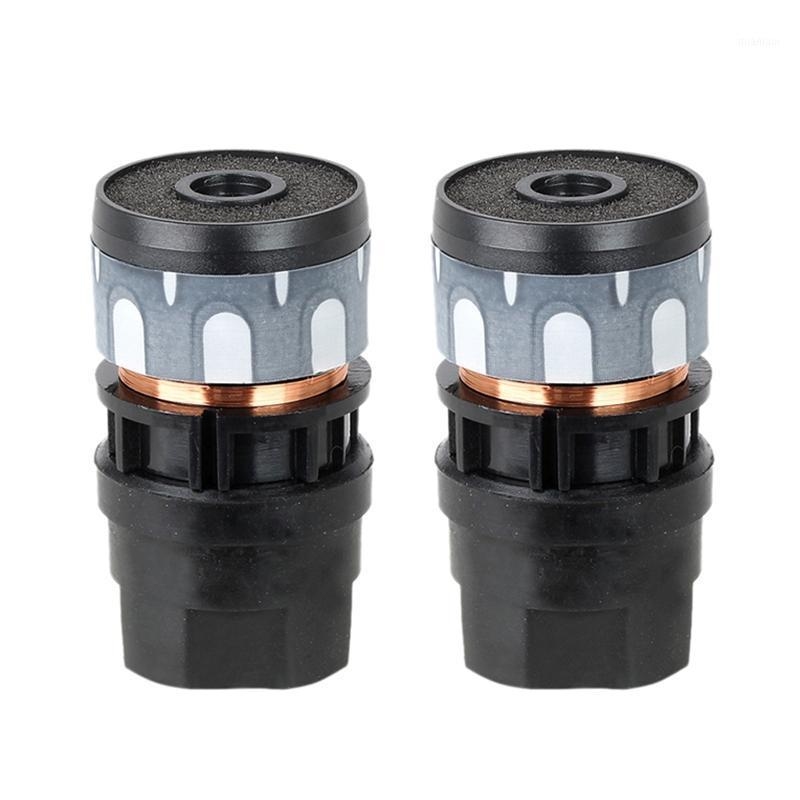 N-813 2PCS Microfone Cartucho Dinâmico Microfones Dinâmicos Core Universal Mic Substituir Repair1