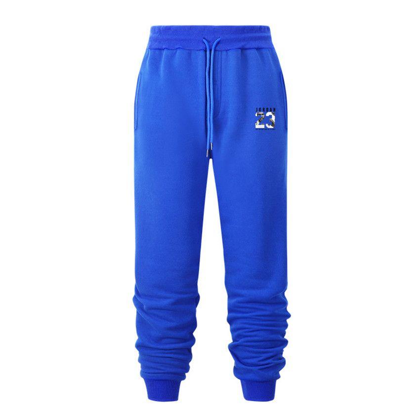 Pantalones deportivos de jogger para hombre 23 Pantalones de impresión Pantalones con cordón Pantalones Fitness Running Pantalones Otoño Invierno Cálido Casual Hombres Pantalones