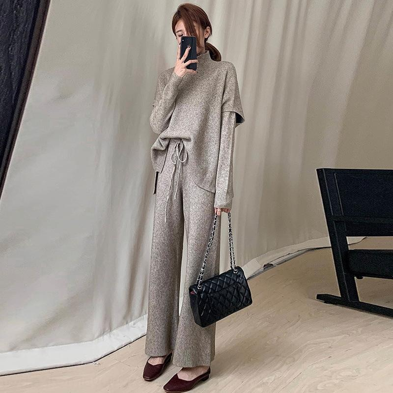 Sikbx Осень 2020 Новый Свет приготовленный Hepburn Стиль Жареная уличная Одежда в 2020 году Осенняя уличная одежда Костюм