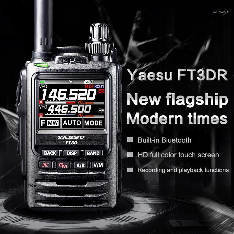 Walkie Talkie Yaesu FT3DR Flagship Digital Candheld Полноцветный Сенсорный экран Bluetooth GPS запись Talkie1