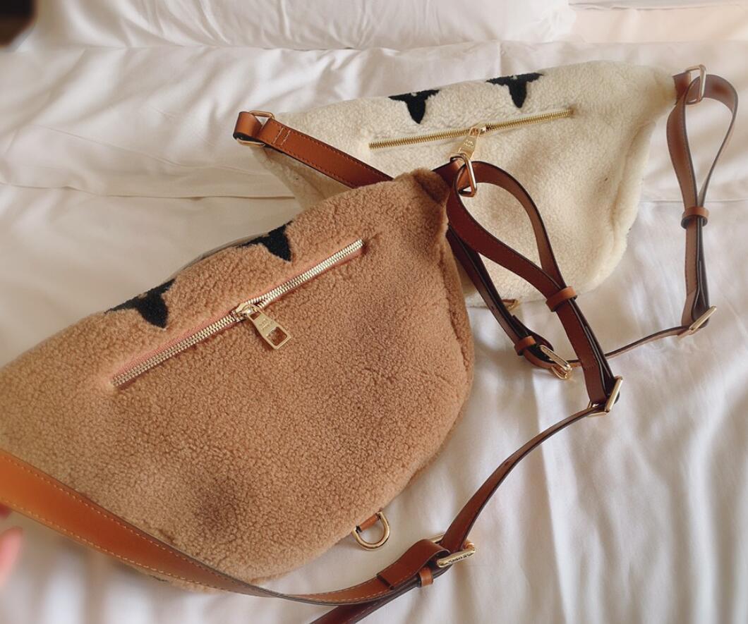 HBP Fanny Paketi Moda Bel Çantası Kış Tasarım Göğüs Çantası Kadın Çanta Çantalar Sevimli Crossbody Çanta Omuz Çantaları