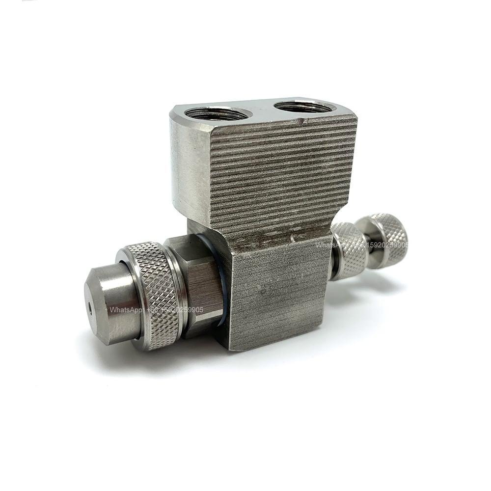 YS 1/8 및 1/4 JAC 스테인레스 스틸 산업용 사용 이류 체 미세 분무 노즐, 공기 소독 분무기