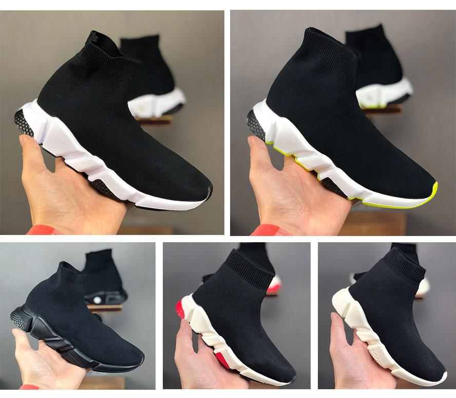 Platform Childrens Kid Sock shoes Vetements crew Sock Runner Trainers womens mens for Boys Girls Shoes Kids Shoes Sneakers Boot Eur 24-36