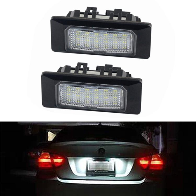 Номер 2Pcs свет номерного знака Лампа для Audi A1 / A6 / A7 / TT VW GOLF6 / JETTA MK6 PASSAT B6 / PASSAT B7 POLO 4D / SHARAN Touran / TOUAREG