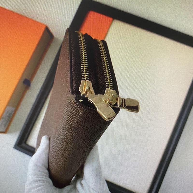 M61723 Karton Tasche mit Reißverschluss Halter weibliche Designer Brieftasche Lange Mode Frauen Tasche Frauen Geldbörse Box Wupmb