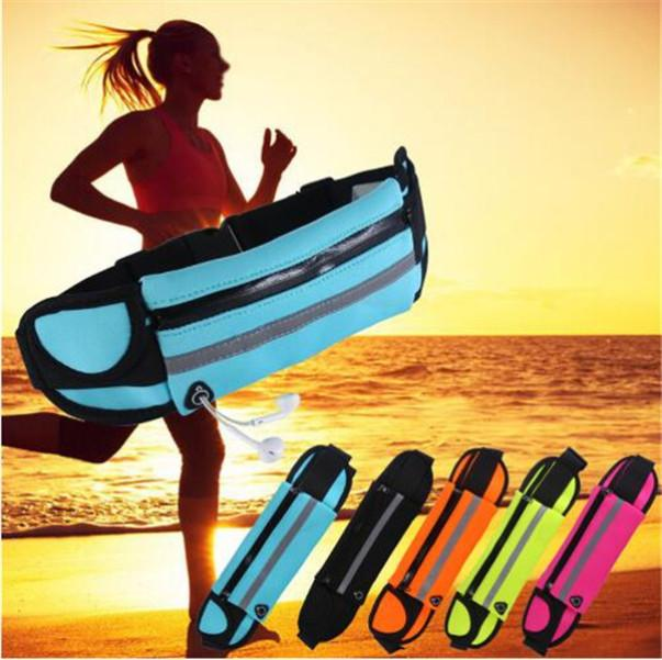 Waterproof Waist Bag Outdoor Running Sport Jogging Belt Fanny Pack Pouch Water Resistant Phone Case For iPhone 12 mini 11 Pro XS MAX XR 8 7