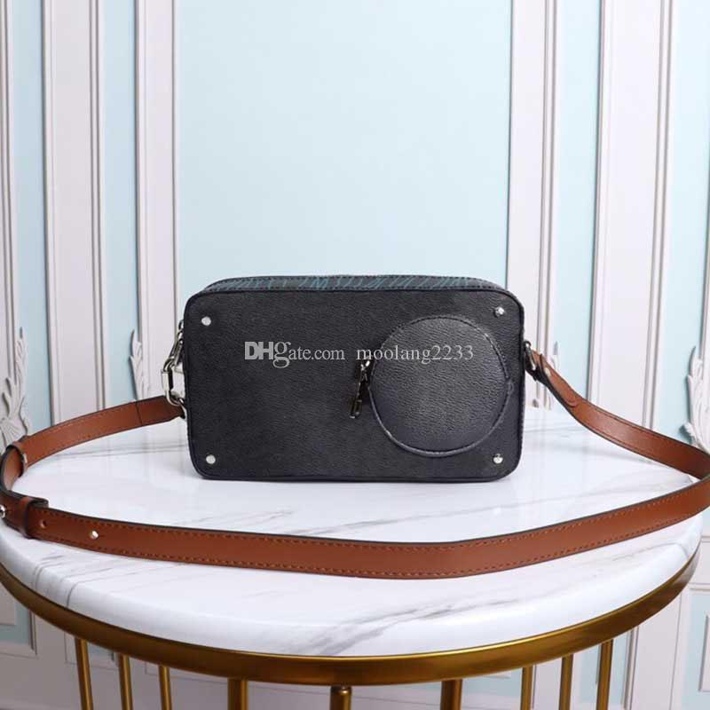 2020 جديد رجل رسول حقيبة الأزياء VOLGA على حزام حقيبة كاميرا النساء والرجال CROSSBODY حقيبة يد حقائب عالية الجودة بو الجلود الكتف