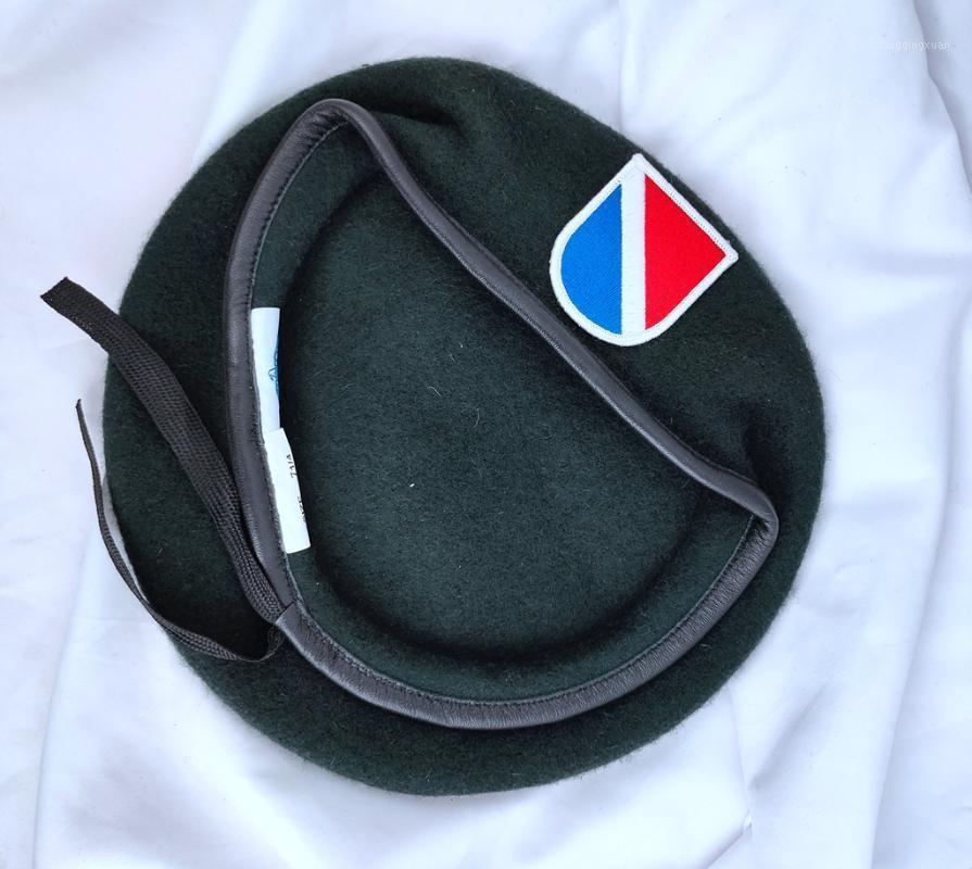 Береты Соединенные Штаты США Армия 11-го Специальные силы Группа шерсти Зеленый Берета Hat Store1