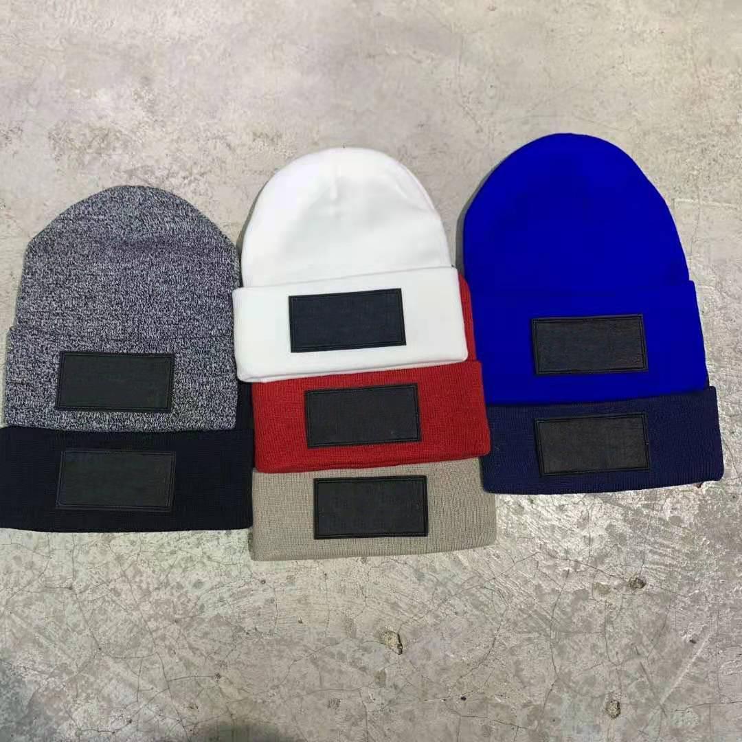 21SS Большинство модных брендов шапки мужская шапка вышивка узор Удобная ткань 3D вышитые хлопковые прокладки теплые буквы эмблема вышивания