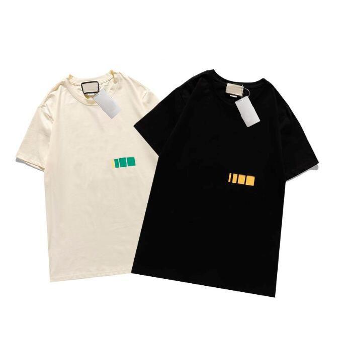 Designer Mens Tshirt Nuova estate manica corta Top European American Popular Stampa T-Shirt da uomo Donna Coppie Tee Shirt S-XXL