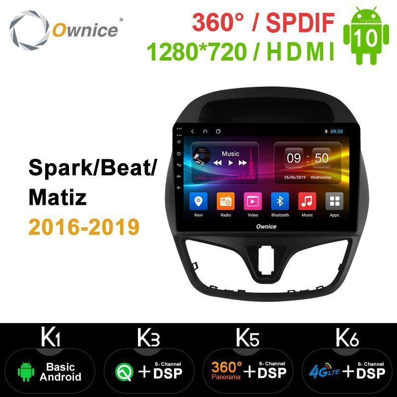 Proprietà K5 K6 Android 10.0 4G LTE DVD auto per Chevolet Spark / Beat / Matiz 2020 - 2020 Audio stereo Video 360 Panorama DSP SPDIF1