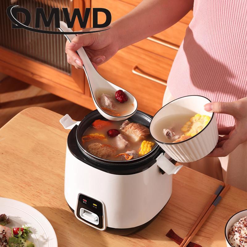 Mini 1.2L site de ce marchand Cuisinière électrique riz 2 couches Chauffage Cuiseur à vapeur multifonction repas Marmite 1-2 personnes Lunch Box UE US Plug