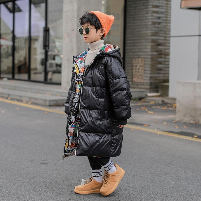 DTOQ Fluffy de alta calidad Furre Firry Faux y abrigos Chaquetas de piel para niños Zaplein abrigo superior con chaqueta de piel de invierno con capucha Manteau Femme T200905