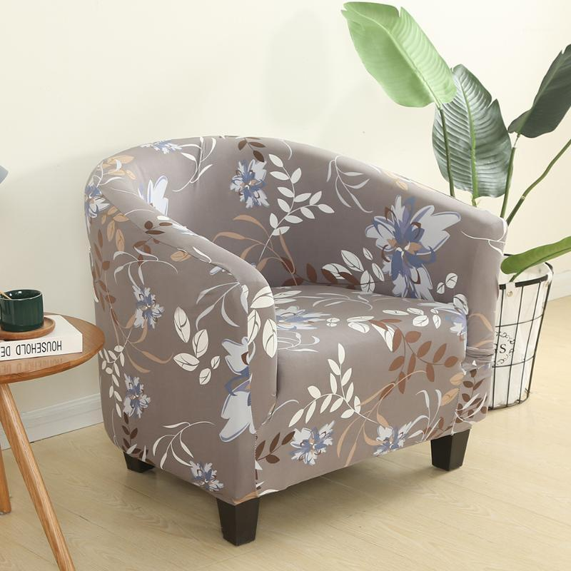 سبانديكس مرونة الحوض كرسي يغطي الصلبة اللون الترفيه تمتد حوض الاستحمام بذراعين مقعد غطاء حامي الغلاف قابل للغسل