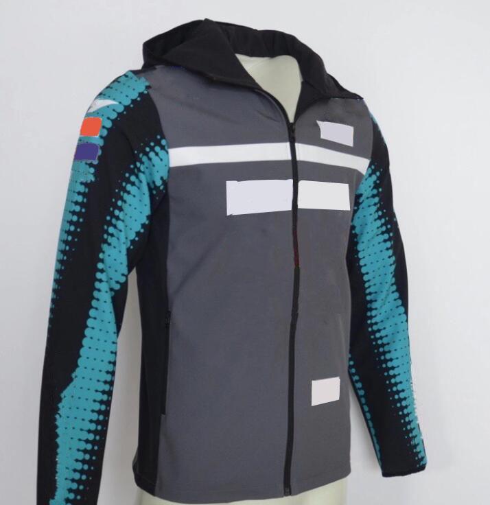 2021 جديد سباق سترة سستة الوقوف الياقة عارضة دراجة نارية سترة عبر البلاد رايدر الملابس زائد المخملية للماء ركوب الملابس