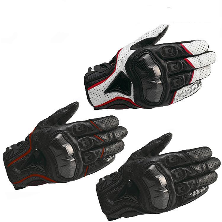 RST390 мотоцикл углеродного волокна мотоциклетный сенсорный экран дышащий мотоцикл перфорированные летние перчатки