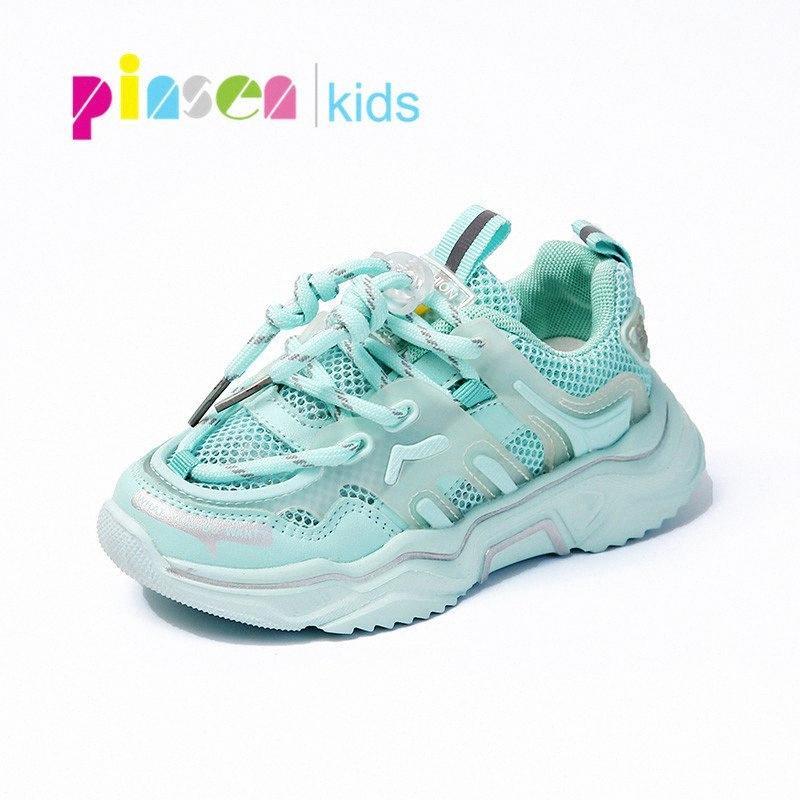 PINSEN 2020 Кроссовки Обувь Мальчики Весна Дети Спортивная обувь для девочек Мода Удобные повседневные малышей Для девочек mqMQ #
