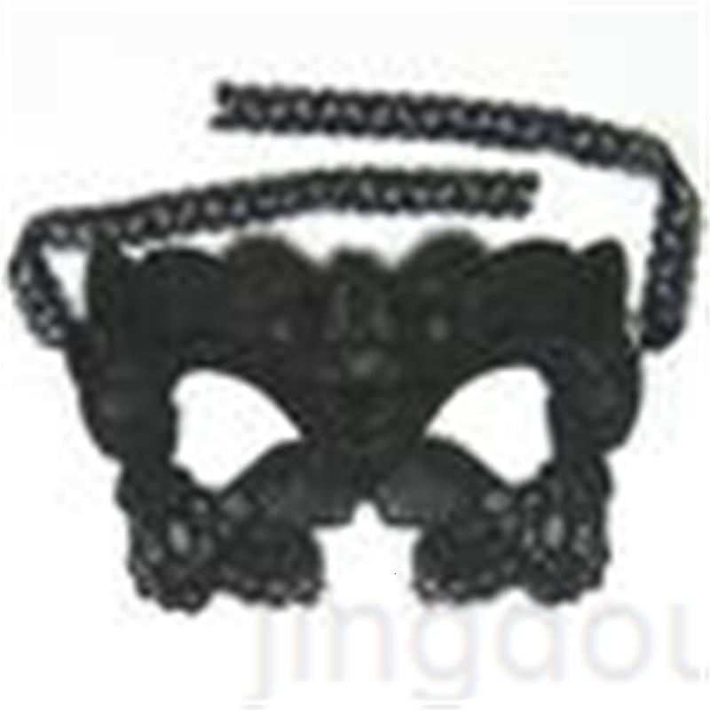 Sexy 6 Design Masquerade Masquerade Lace Black Party Lace Máscara Brinquedo para senhoras Halloween Dance Party MBV