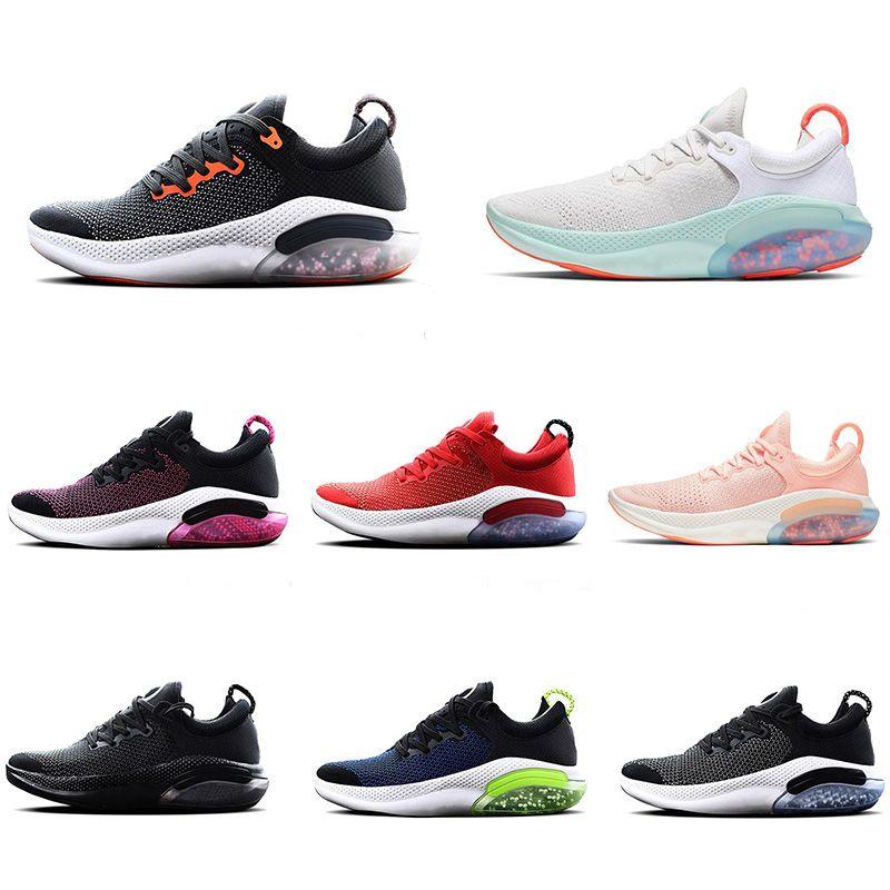 2021 Joyride Run FK Running Shoes para hombres Mujeres Triple Blanco Blanco Platinum Racer Blue Designers Sports Sneakers Utility EUR 36-45
