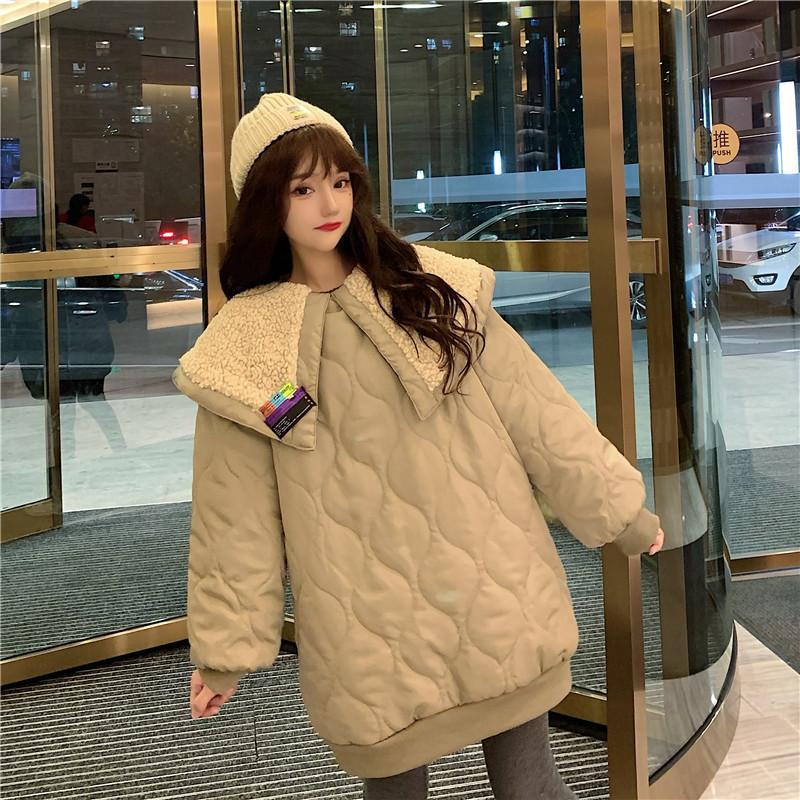 2020 Nuevas señoras Down Cotton Women's Short Winter Foot Pan Pan Chaqueta Estudiante Coreano Versión Abrigo