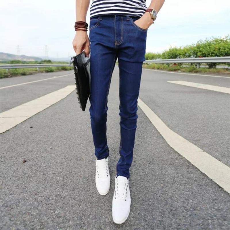 Männliche Hose Slim Bleistift Hosen Jungen Jeans Skinny Hose Casual Hose Männer Jeans Frühling und Herbst