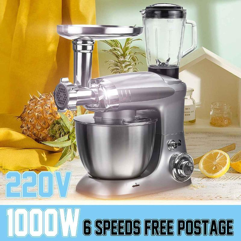 Blender Electric Processor Stand Mixer Juicer Meat Grinder Cake Dough Egg Beater Baking Tools Whipping Cream Machine
