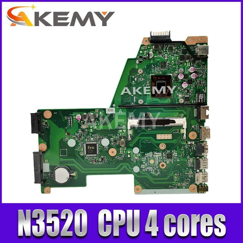 X451MA laptop motherboard REV 2.1 For Asus F451M X451M X451MA Mainboard DDR3 100% test N3520 CPU 4 cores