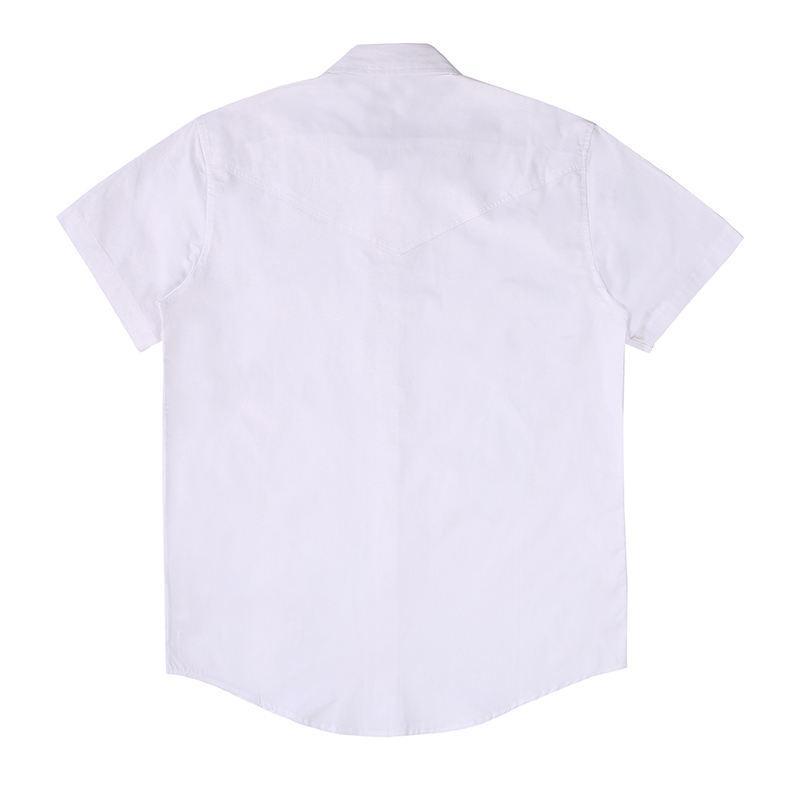 قمصان ملابس رجالي عارضة تي شيرت رجالي قمصان الأزياء الكلاسيكية أسود أبيض رجالي قصيرة الأكمام حجم S-XL