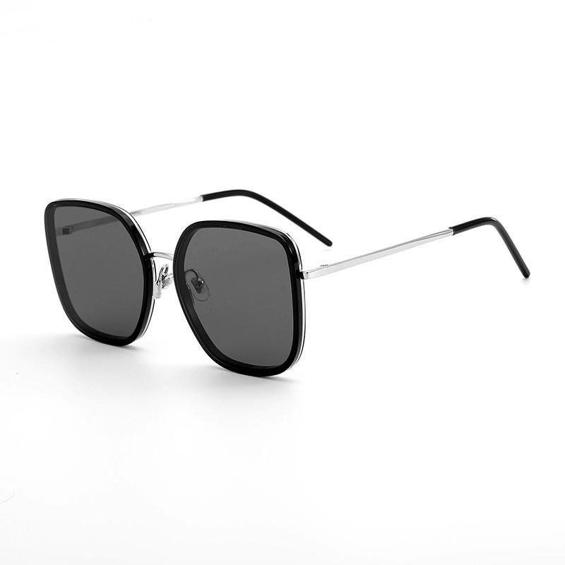 Tasarım Güneş Gözlüğü Gözlük Bibi Güneş Gözlüğü Moda Stil Kadınlar ve Erkekler Için Retro Rectan Çerçeve En Kaliteli Açık Unisex Maske Güneş Gözlüğü
