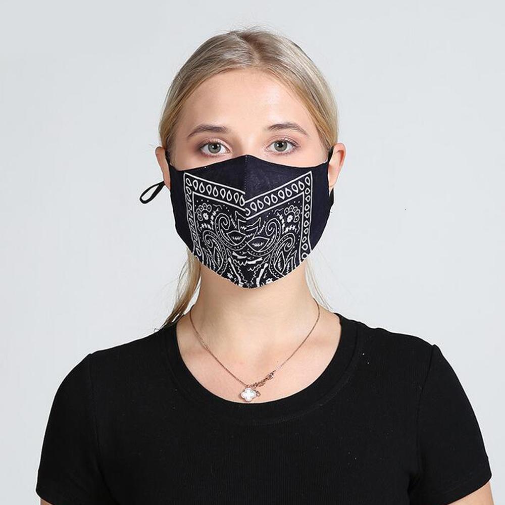 Моящаяся цветочная маска для лица 5 стилей многоразовая персонализированная пылезащитная мода хлопчатобумажная маска рот крышка в стиле в стиле Earhook стиль Shoppin