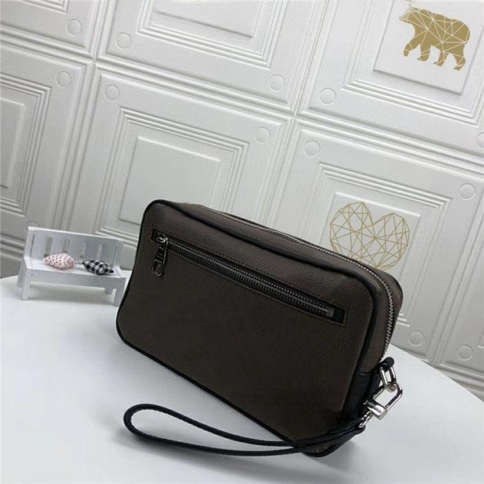 Wholesale Top Top Qualité Portefeuille Femme Sac de haute qualité Sac d'embrayage de haute qualité Mode Sac en cuir portefeuille femme avec boîte