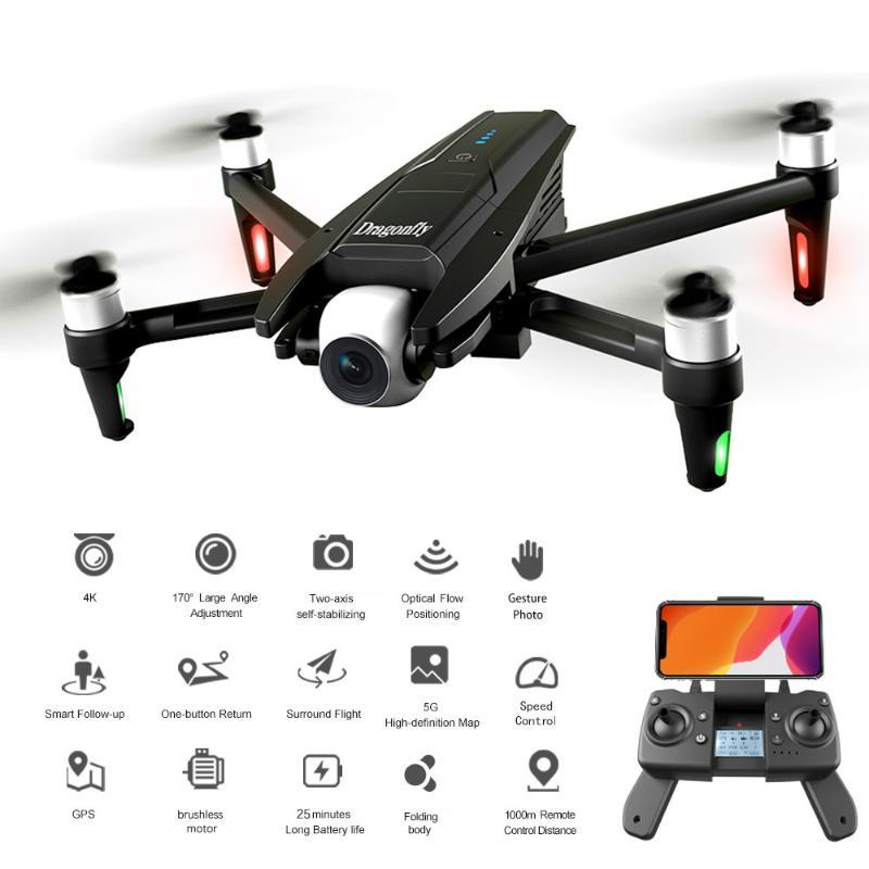 KK13 RC Drone mit Kamera 4K Drone 5G WIFI 2-Achsen Gimbal Brushless 120 ° Weitwinkel GPS 25 Minuten Flugzeit Quadcopter