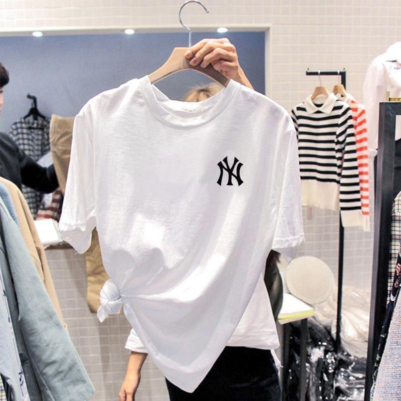nuovo girocollo manica corta Xlbm5 maglietta studentesse di FZjcE Corea del Sud T-shirt in estate 2020 per