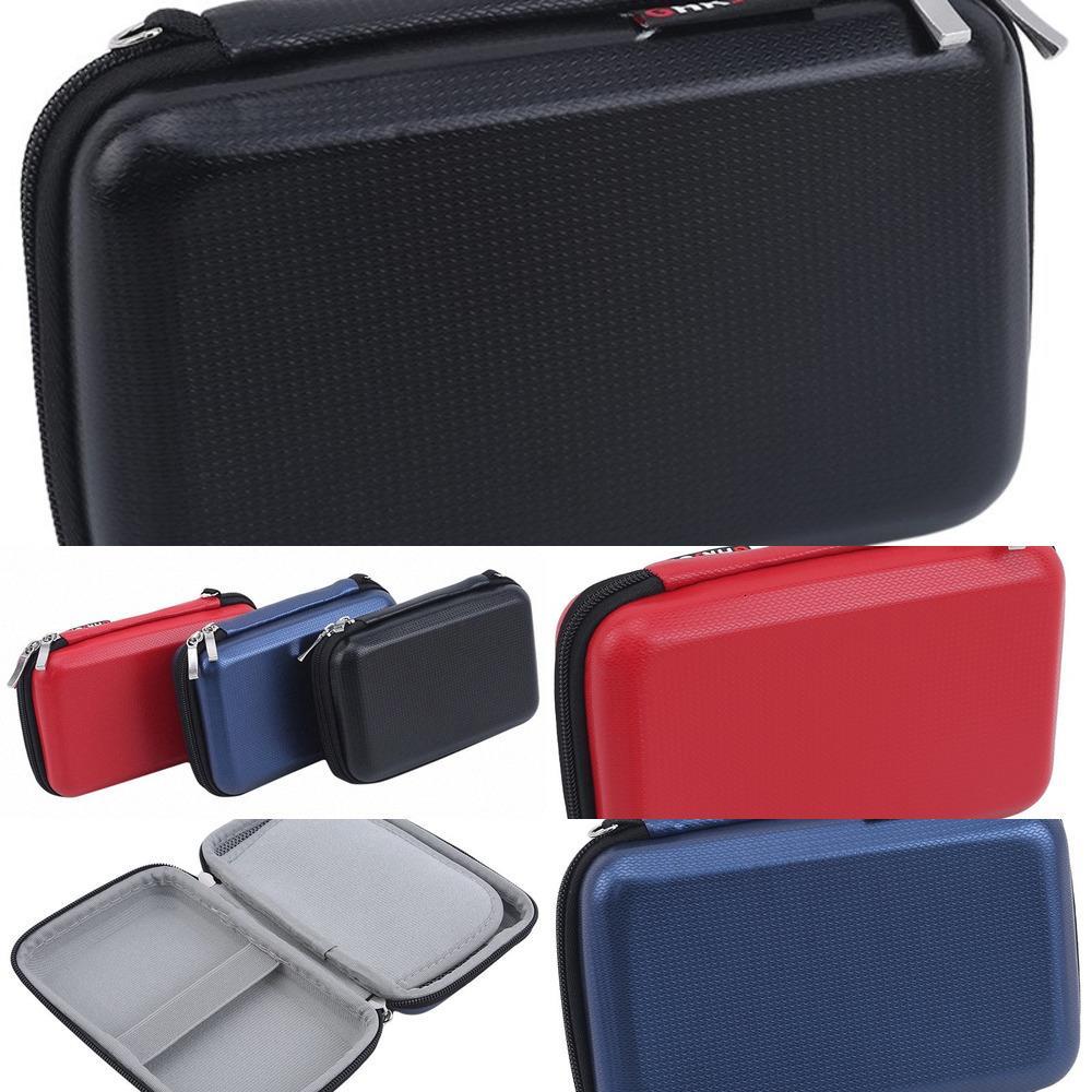 Качественные водонепроницаемые наушники-кабельный кабель USB Организатор молнии Чехол Портативный Перевозка Hard Bag EVA Ящик для хранения 623E # F9T3