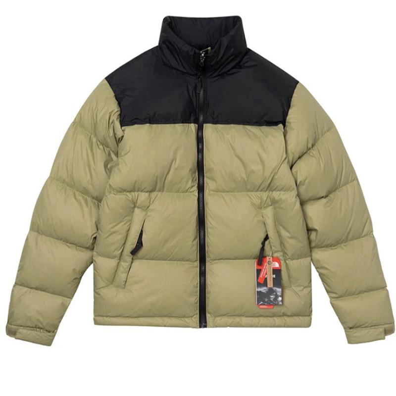 Moda 1996 erkek aşağı ceket yüksek kabarık aşağı parkas genç erkek ve kadınlar çiftler kalın gündelik gevşek sıcak ceket yüksek kalite Asain S-2XL