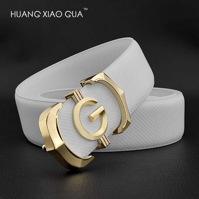 Cinto de couro luxo homem cintos branco cintos de desenhista homens de alta qualidade g letra fivela fivela macho cinta ceinture homme j1223