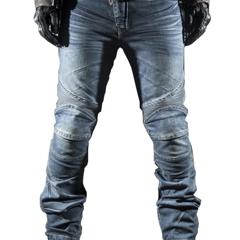 Neue Ankunft! Motorrad Racing MTB Bike Jeans Motorrad Männer Casual Cowboyhose mit Pads