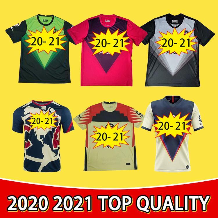 Качество 2021 Клуб Америки Футбол Футбол Ф. Винас Генри Лига MX Rodriguez América Джерси вратарь Giovani Men Kids Kit Футбольная рубашка