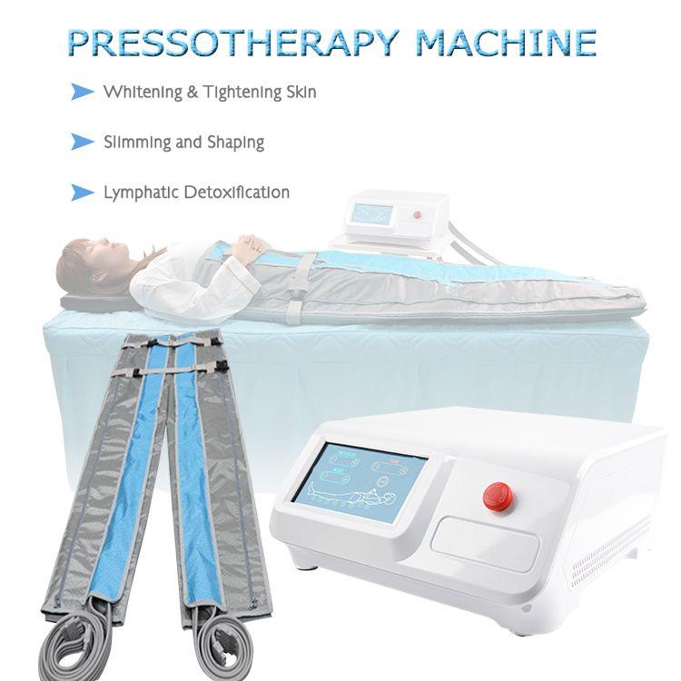 Envoltório infravermelho portátil Envoltório Prensaterapia Lymph drenagem máquina perda de peso corpo emagrecimento corpo desintoxicação salão de beleza