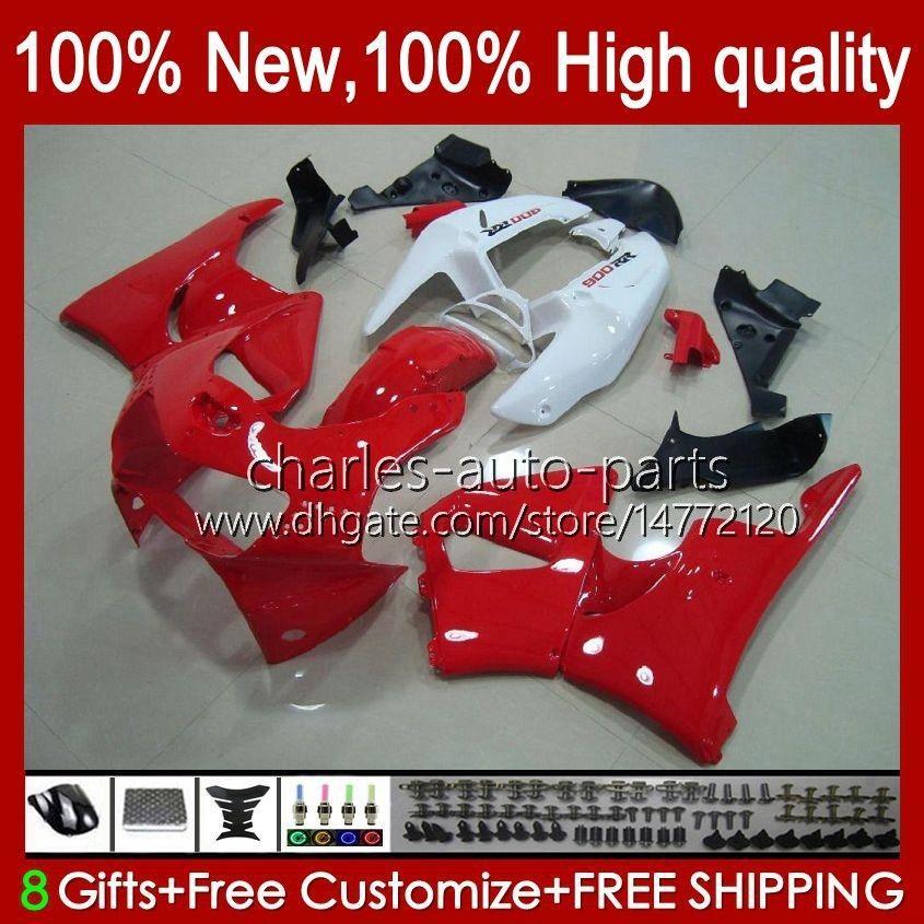 바디 혼다 CBR919 CBR900 RR CBR 900 919 RR의 CC 흰색, 빨강 CBR919RR 98 99 93HC.25 CBR 919RR 900RR 900CC 919CC CBR900RR 1998 1999 페어링